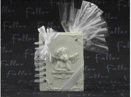 Dragées Communion - Petit livre ange avec dragees de communion