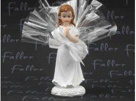 Dragées Communion - Dragées et petite communiante priant
