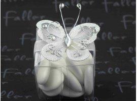 Dragées Communion - Boite pvc papillon et dragees de communion