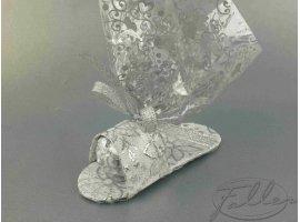 Oriental - Dragees avec sandale argentee orientale