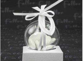 Dragées Communion - Dragees communion dans boule avec symbole evangelique