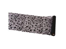 Chemins de Table - Chemin de table organza fleur noire