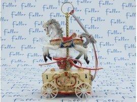 Dragées Baptême - Manège cheval musical pour  baptême garçon