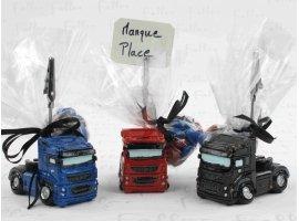 Dragées Mariage - Porte photo camion avec dragées pour mariage