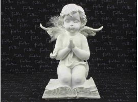 Dragées Communion - Grand ange sur livre avec dragées de communion